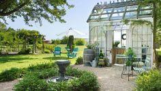 28 Ideas Backyard Decor Ideas She Sheds Fresco, Landscape Design, Garden Design, Small Backyard Landscaping, Landscaping Ideas, Backyard Ideas, Sweet Autumn Clematis, She Sheds, Rock Pools