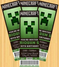 Tix for entry into the mine