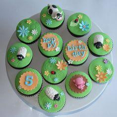 Farm Cupcakes :)