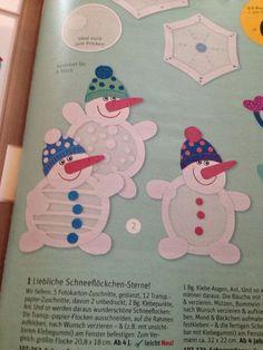 ikkunakoriste lumiukko Winter Art Projects, Winter Kids, Christmas Crafts For Kids, Winter Christmas, Advent Activities, Christmas Activities, Winter Activities, Diy Snowman, Winter Theme