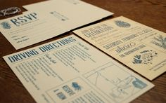 Recipients of these wedding party invitations are likely to take notice when…