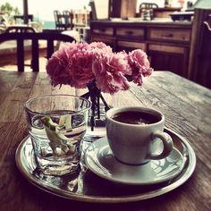 #gununkahvesi from zeynep özyılmazel, turkish coffee, house cafe