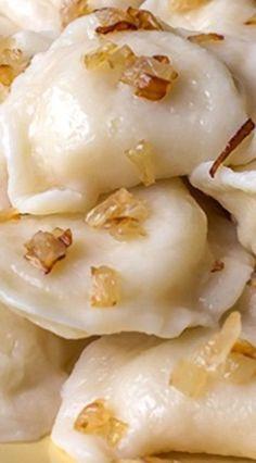 Pierogies with Potato & Caramelized Onion