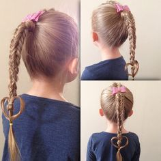 All Hairstyles, To My Daughter, Hair Styles, Beauty, Fashion, Hair Plait Styles, Moda, Fashion Styles, Hair Makeup