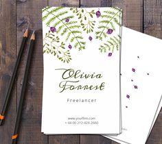 Free Forrest Business Card - http://webvilla.pl/forrest-business-card/