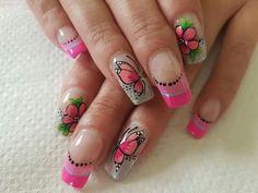 Maria Jose, Nail Art, Beauty, Nail Bling, Finger Nails, Templates, Pink Nails, Nail Arts, Beauty Illustration