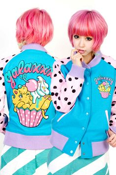 I know she is modeling the jacket but I want her hair *^*