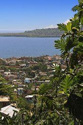 Vista panorámica de la ciudad de Baracoa