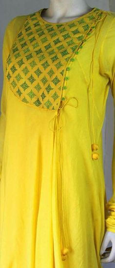 Neck Designs For Plain Kurtis