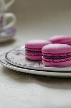 les petits plats de trinidad: Macarons au cassis