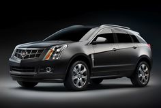 Cadillac SRX. Prefer black, but will take charcoal gray or pearl white.