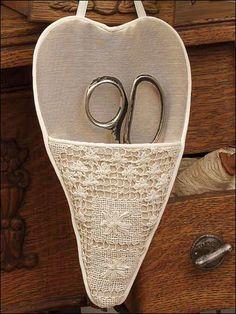 Heart Pocket Scissors Keeper