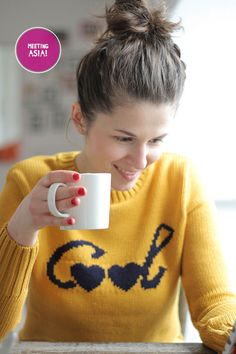 cool text sweater