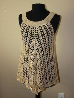 Beach Dress / swimwear cover up. Crochet by CROCHEThatsBYolga