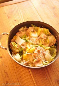 春雨入り白菜と豚の重ね煮