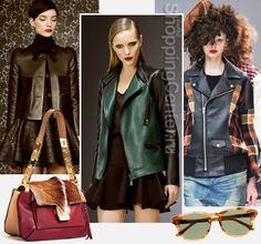 Женские кожаные куртки 2016, фото