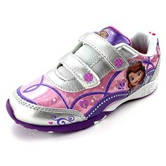 GIRL/'S DISNEY JUNIOR *SOFIA THE FIRST LOVING PRINCESS SNEAKERS*  SIZE 11 M