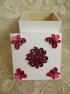 Quilled Jewelry Box