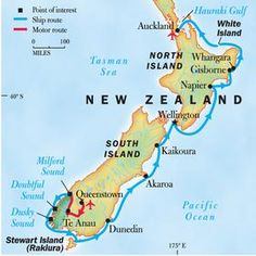 Exploring New Zealand's North and South Islands