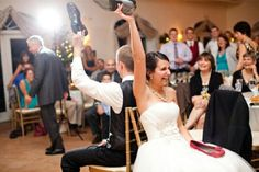 Come on, let's think about those who can't dance for a second. The thought of letting loose generates sheer panic. So let's make your wedding more fun...