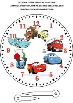 Orologio di Cars