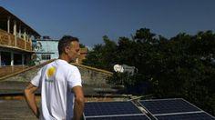 O belga que quer revolucionar favelas brasileiras com energia solar no País onde a energia é a mais cara do mundo.