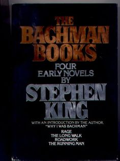 The Bachman Books : Four Early Novels by Stephen King (omnibus of Rage, The Long Walk, Roadwork and The Running Man) « LibraryUserGroup.com – The Library of Library User Group