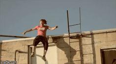 Parkour/ Free running women