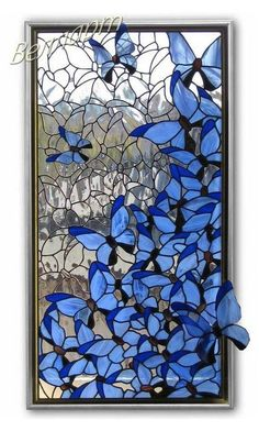 Stained Glass Quilt, Stained Glass Crafts, Faux Stained Glass, Stained Glass Designs, Stained Glass Panels, Stained Glass Flowers, Stained Glass Patterns, Broken Glass Art, Sea Glass Art