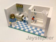 Lego Guest Bathroom