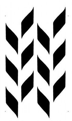 STENCIL - Woven Pattern - Allover Wall Stencil - Durable, Reusable, Modern DIY Decor