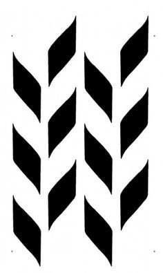 STENCIL - Woven Pattern - Allover Wall Stencil - Durable, Reusable, Modern DIY Decor