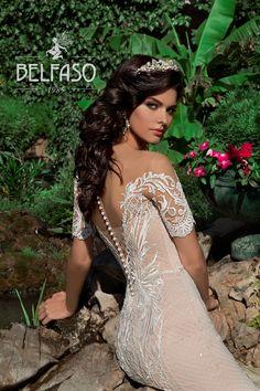 Off Shoulder Long Sleeve Wedding Dress Sexy Mermaid Backless Sexy Wedding Dresses, Wedding Dress Sleeves, Bridal Dresses, Wedding Gowns, Dresses With Sleeves, Low Cut Dresses, Formal Dresses, Long Sleeve Wedding, Schneider