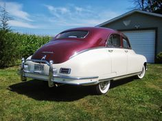 Handsome 1948 Packard Deluxe Eight Touring Sedan - excellent running, driving example and ready to enjoy. Bid on it at the upcoming Toronto Fall Classic Car Auction at Mississauga's International Centre on Saturday, November 02. See www.ccpauctions.com