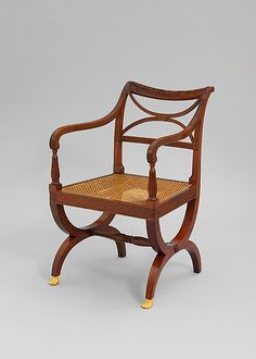 Armchair  Attributed to Duncan Phyfe & Son  (1770–1854)