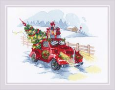 To the Holidays Cross Stitch Kit