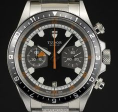 TUDOR STAINLESS STEEL GREY DIAL HERITAGE CHRONOGRAPH B&P 70330N  http://www.watchcentre.com/product/tudor-stainless-steel-grey-dial-heritage-chronograph%C2%A0bp-70330n/5411