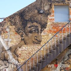 Street art in #Lisbon #Portugal