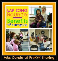 photo of: Lap Bounce Rhymes and Rhythms with Miss Carole at PreK+K Sharing (Examples + Benefits)