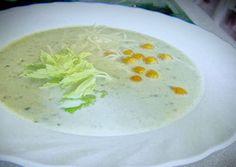 Szárzeller krémleves Cheeseburger Chowder, Hummus, Cantaloupe, Fruit, Ethnic Recipes, Soups, Soup