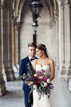 Bride and groom wedding photography ideas 38