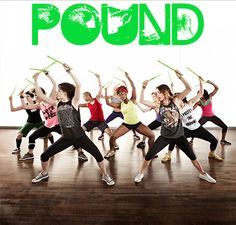 POUND Fitness -- liberating and euphoric.