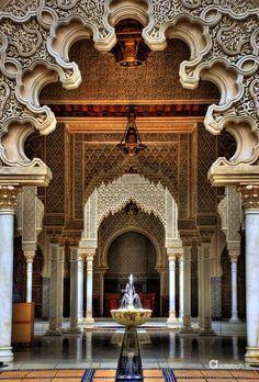 Alhambra, Granada, España.