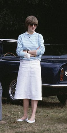 Lady Diana before her marriage to Prince Charles.