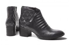 La moda de lo acolchado se traslada a botas y botines