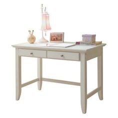 home styles naples student desk white - Desks With Bookshelves