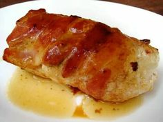 Bacon and Cheese Stuffed Chicken