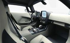 #Marussia futuristic dashboard. New Russian supercar brand #therandomer