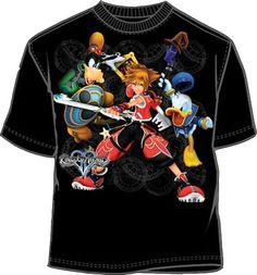 Kingdom Hearts Defense System Mens Shirt KH023MS