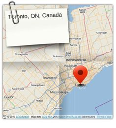 Toronto, ON, Canada (courtesy of @Pinstamatic http://pinstamatic.com)